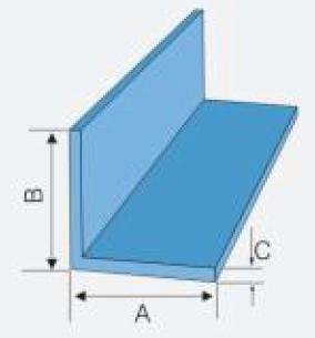 frp angle size