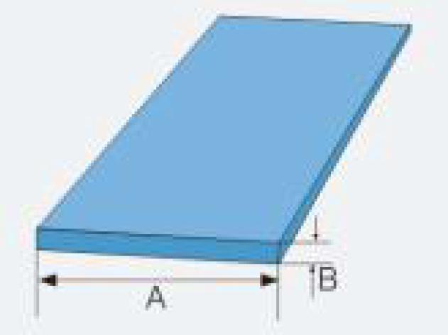 frp flat strip size