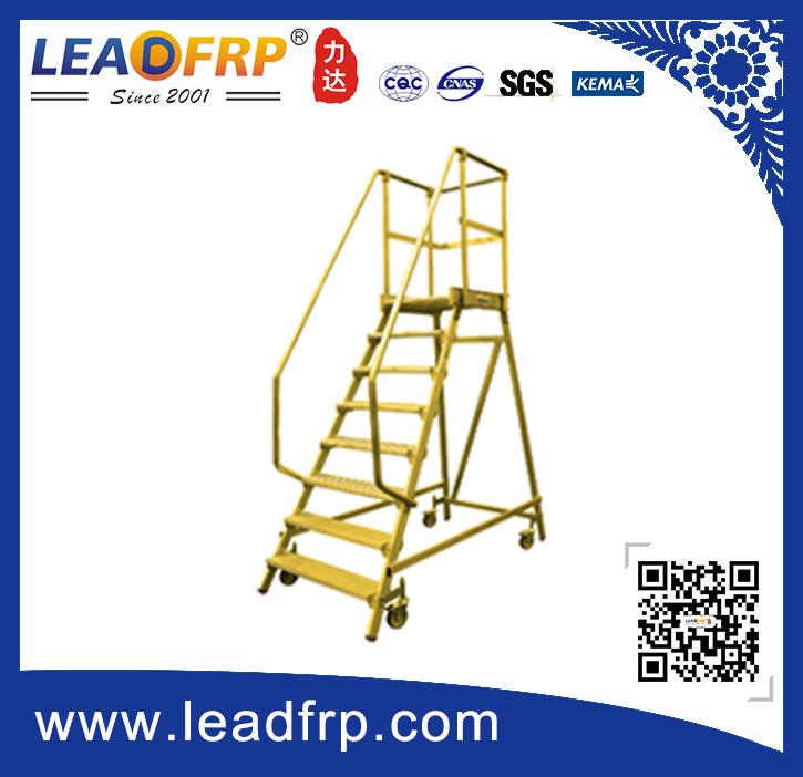 frp movable platform ladder