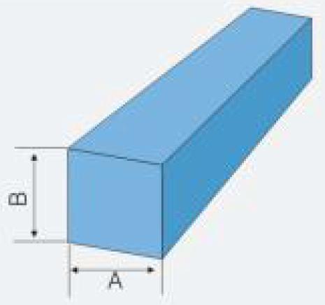 frp square bar size